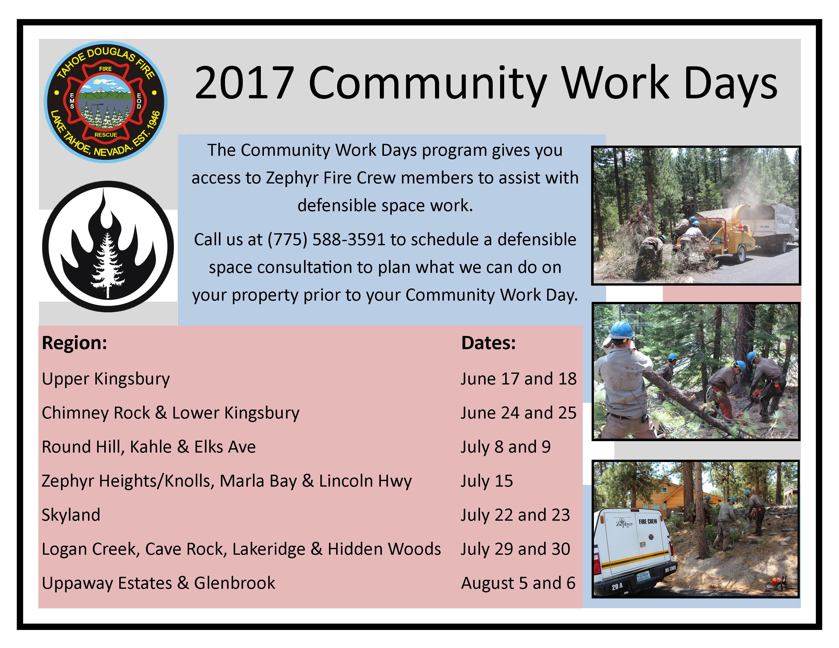 2017 Community Work Days