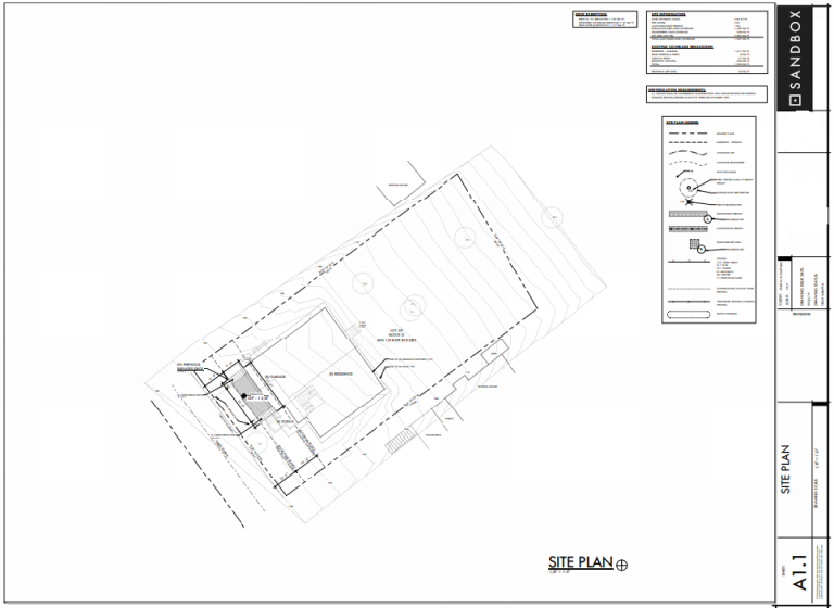 Level 1 Site Plan