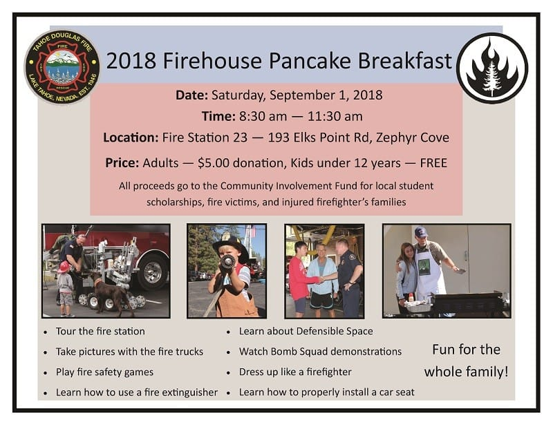2018 PANCAKE BREAKFAST