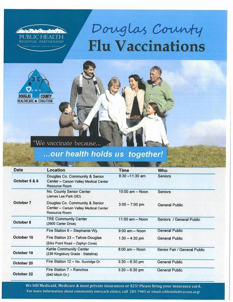 Douglas County Flu Vaccinations