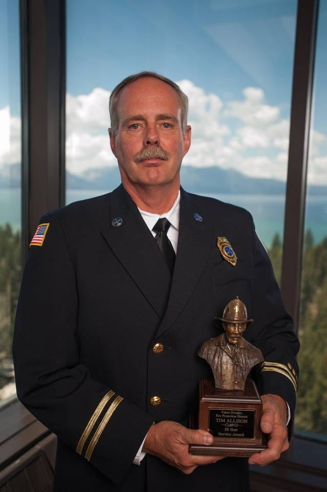Assistant Chief Tim Allison Retires