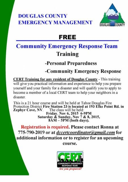 Community Emergency Response Team (CERT) Training
