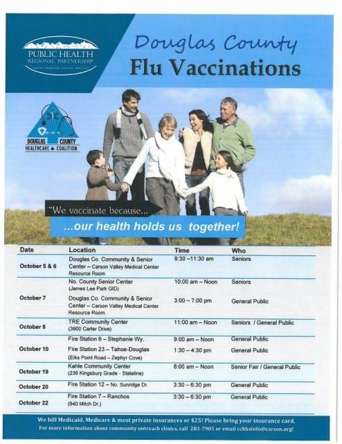 Douglas County Flu Vaccinations