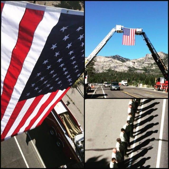Honoring USFS Firefighter Michael Hallenbeck