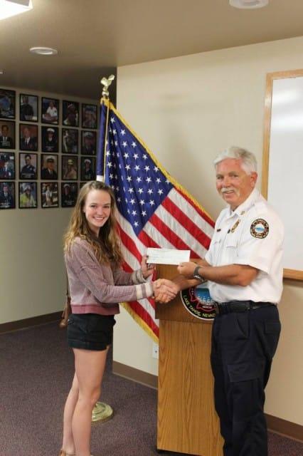 DHS Scholarship Winner