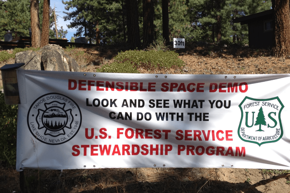 HOMEOWNER DEFENSIBLE SPACE GRANTS ARE NOW AVAILABLE