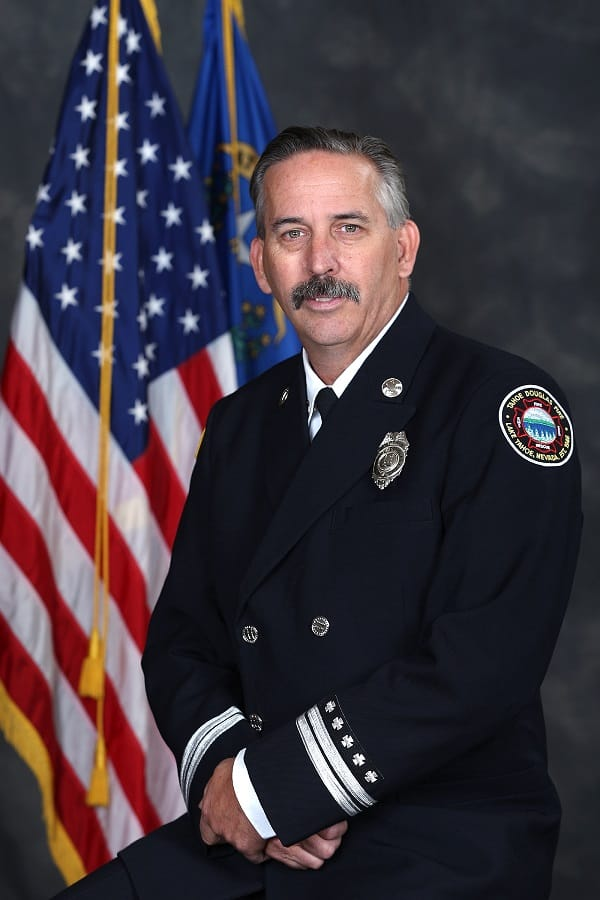 Jones Promoted to Battalion Chief